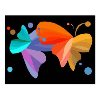Twin Butterflies Postcard