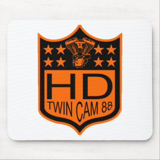 Twin Cam 88 Shield Mouse Pad