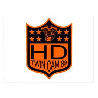 Twin Cam 88 Shield Postcard