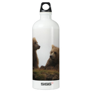 Twin Cubbs Free From MoM Aluminum Water Bottle