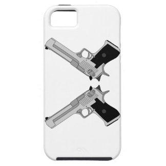 Twin Desert Eagles design iPhone SE/5/5s Case