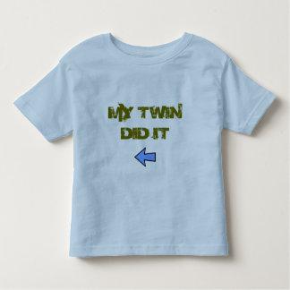 Twin Did It Shirt
