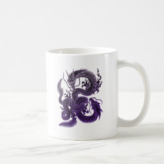 Twin-dragon (P) Coffee Mug