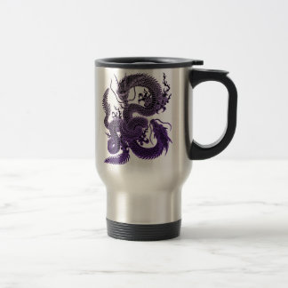Twin-dragon (P) Travel Mug