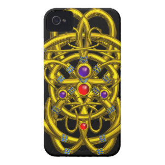 TWIN DRAGONS Black Case-Mate iPhone 4 Case