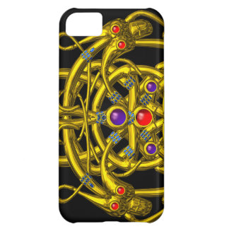 TWIN DRAGONS Black Cover For iPhone 5C