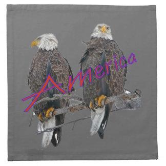 Twin Eagles America American MoJo Napkins