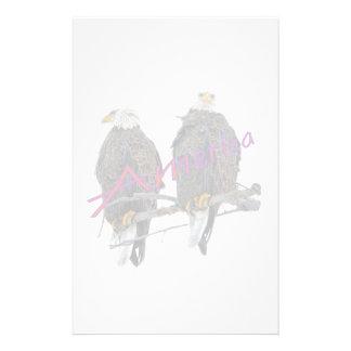 Twin Eagles America Stationery
