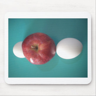 Twin Egg red apple for a pie.JPG Mouse Pad