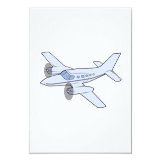 Twin-Engine Airplane Card
