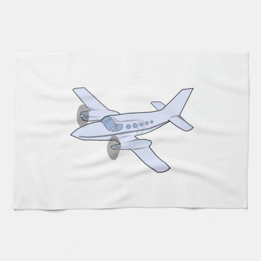 Twin Engine Airplane Hand Towel Zazzle