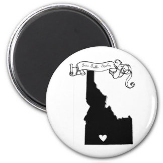 Twin Falls 2 Inch Round Magnet