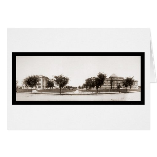 Twin Falls Court House Photo 1913 Greeting Card