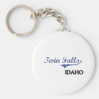 Twin Falls Idaho City Classic Key Chain