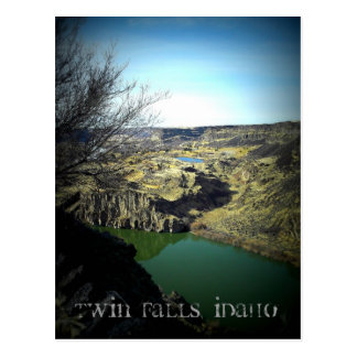 Twin Falls Idaho Postcard