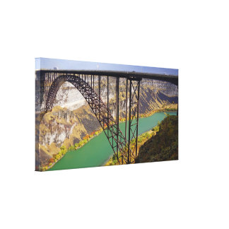 Twin Falls, Idaho Wrapped Canvas Print