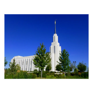 Twin Falls LDS Temple Poster