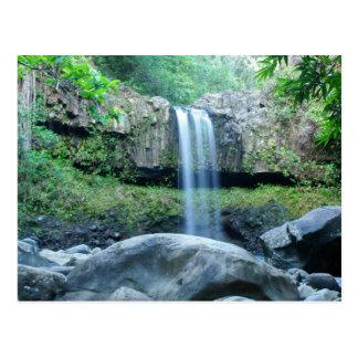 Twin Falls Maui Post Card