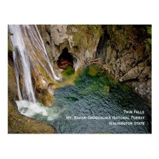 Twin Falls Postcard