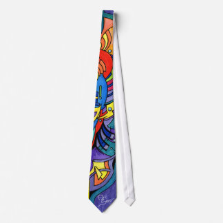 Twin Flame Attractor Tie