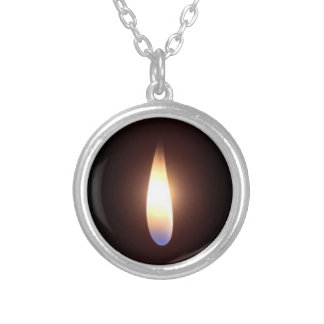 Twin flame necklace