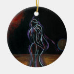 Twin Flames Ornament: Round
