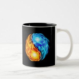Twin Flames Two-Tone Coffee Mug