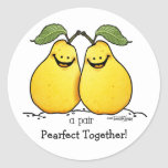Twin fruits - Perfect Pair Round Sticker