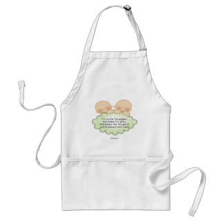 Twin Giggles Adult Apron