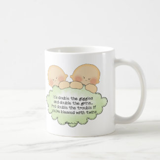 Twin Giggles Coffee Mug