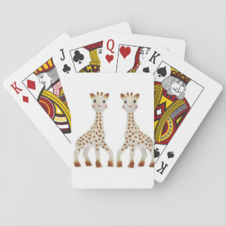 **TWIN GIRAFFE** PLAYING CARDS