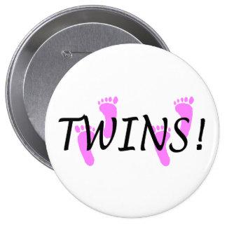 Twin (Girl) Button