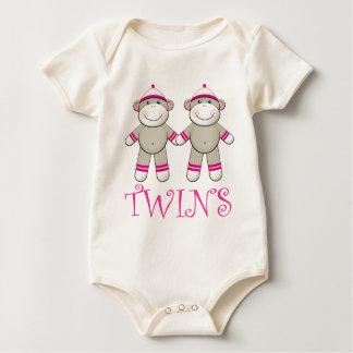 Twin girls Baby Bodysuit