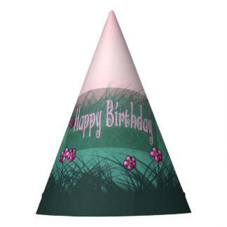 Twin Girls Birthday Party Hat