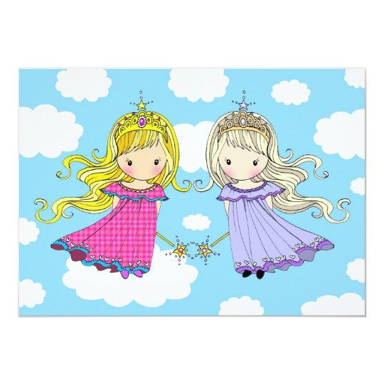 Гифки, красивые открытки с днем рождения двойняшек девочек