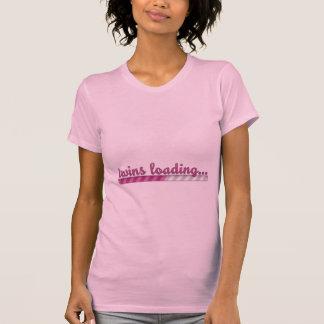 Twin Girls Loading Pregnancy Shirt