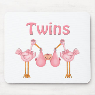 Twin Girls Mouse Pad