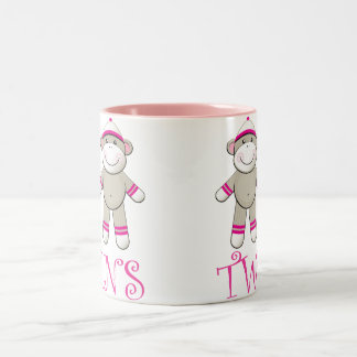 Twin Girls Mug Two-Tone Mug