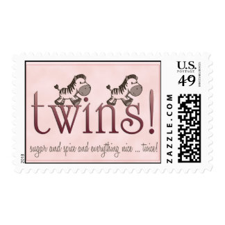 Twin Girls! Stamps