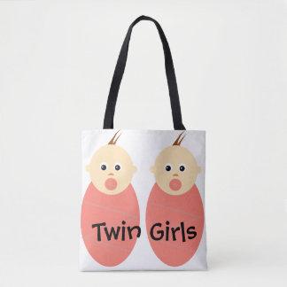 Twin Girls Tote
