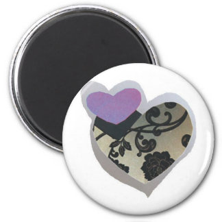 twin hearts magnet