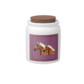 TWIN Horse : Stallion Candy Jars