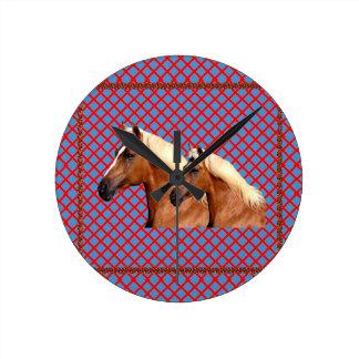 TWIN Horse : Stallion Clock