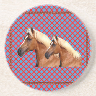 TWIN Horse : Stallion Drink Coasters