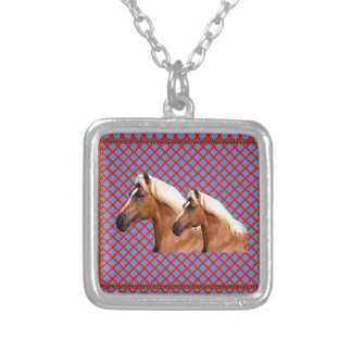 TWIN Horse : Stallion Personalized Necklace