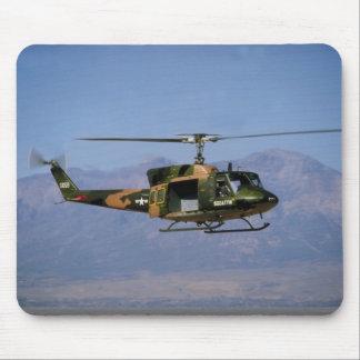 Twin Huey UH-1N Mouse Pad
