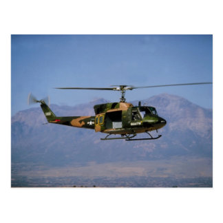 Twin Huey UH-1N Post Card