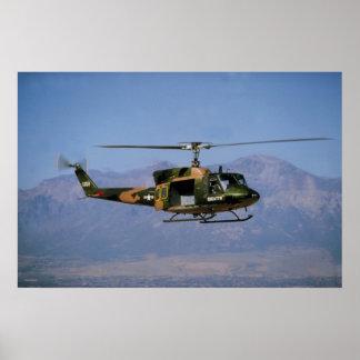 Twin Huey UH-1N Posters