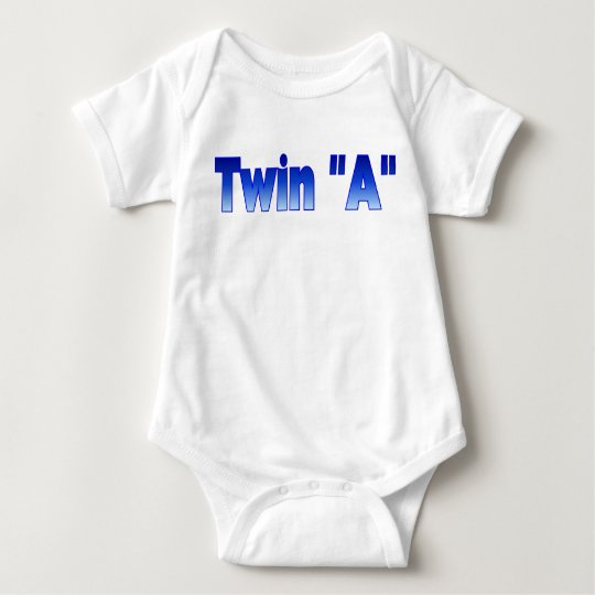 Twin InfantT-Shirt Baby Bodysuit