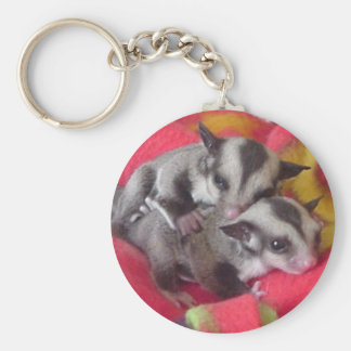 Twin Joeys key chain
